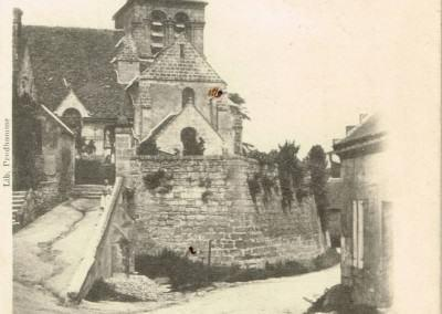 Eglise de Pernant - 1902