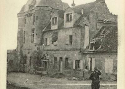 Le château bombardé 1914-1915